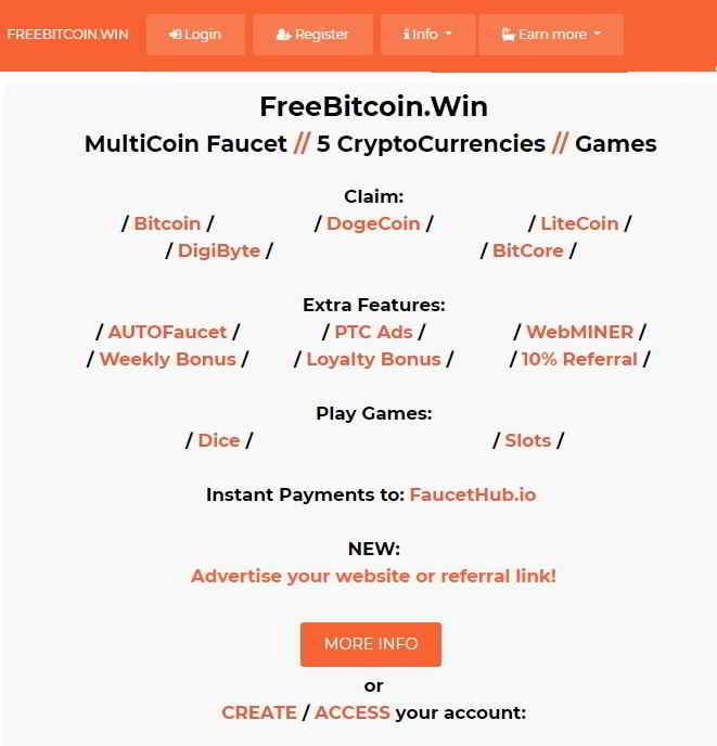 Биткоин кран FreeBitcoin win